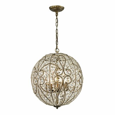 Goethe 8-Light Globe Pendant