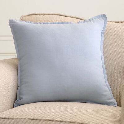 Windsor Throw Pillow Size: 20 H x 20 W x 4 D, Color: Slate