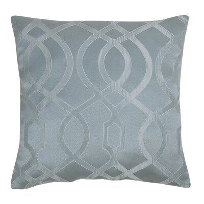 Dessel Throw Pillow Color: Blue