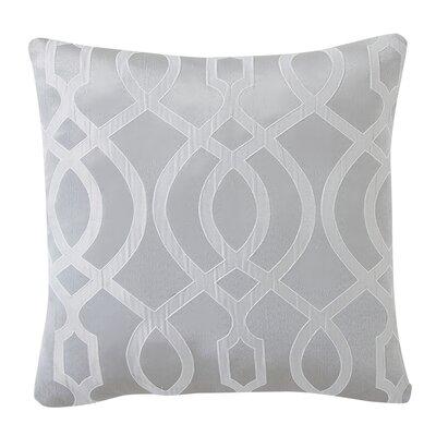 Dessel Throw Pillow Color: Silver