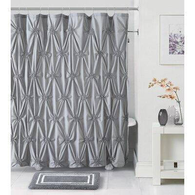 Darion 14 Piece Bath Rug Set Color: Gray