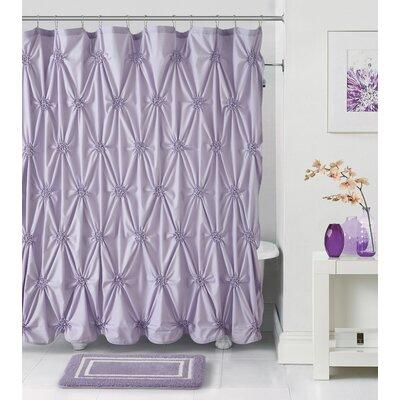 Darion 14 Piece Bath Rug Set Color: Lavender