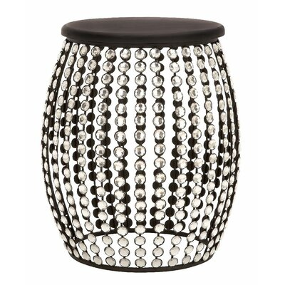 Jacinth Beaded Stool