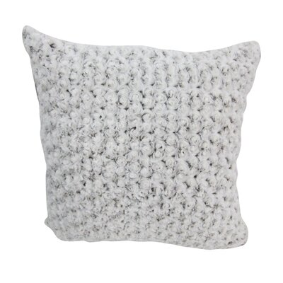 Kailani Throw Pillow Color: Cream