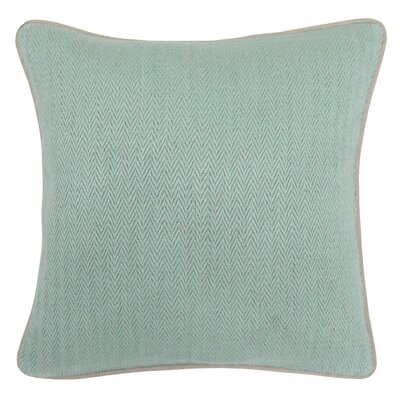 Gaspey Cotton Throw Pillow Color: Mint
