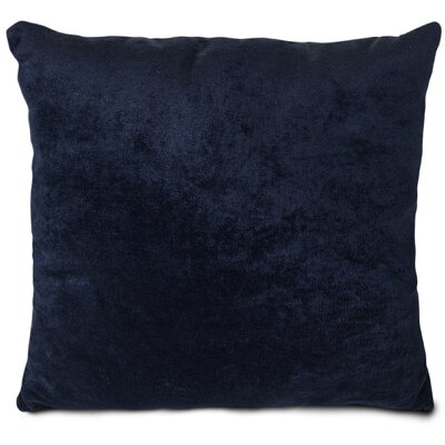 Edwards Throw Pillow Size: Large, Color: Navy