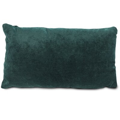 Edwards Velvet Lumbar Pillow Color: Marine