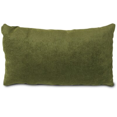 Edwards Velvet Lumbar Pillow Color: Fern