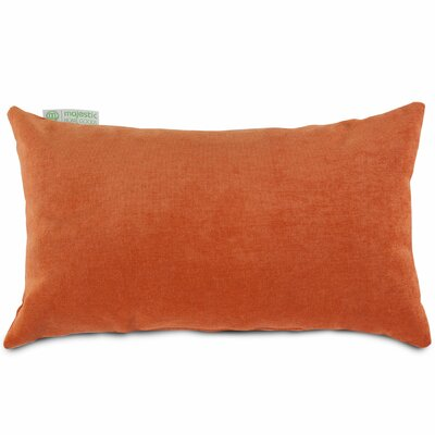 Bramma Lumbar Pillow Color: Orange