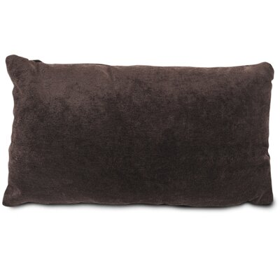 Edwards Velvet Lumbar Pillow Color: Storm