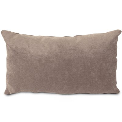 Edwards Velvet Lumbar Pillow Color: Pearl
