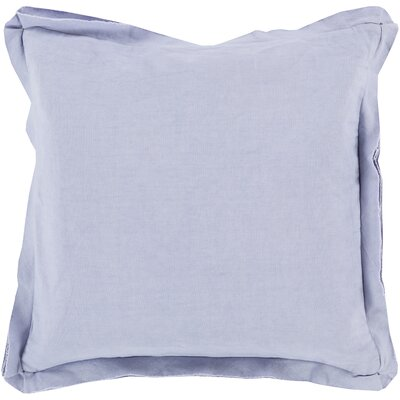 Anastagio Polyester Cotton Throw Pillow Size: 22 H x 22 W x 4 D, Color: Lavender