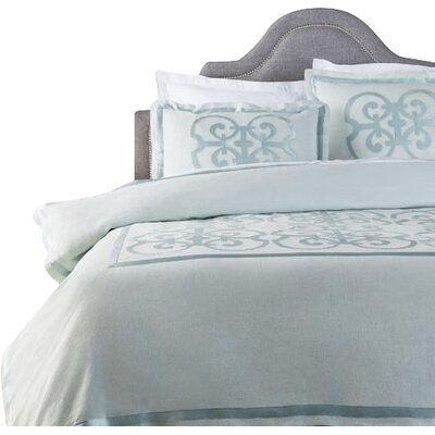 Shetler Duvet Cover Color: Blue, Size: King