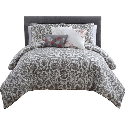 Chevalier 6 Piece Comforter Set Size: King