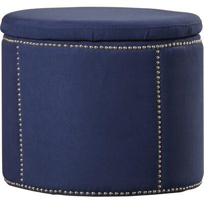 Orpington Storage Ottoman Upholstery: Navy