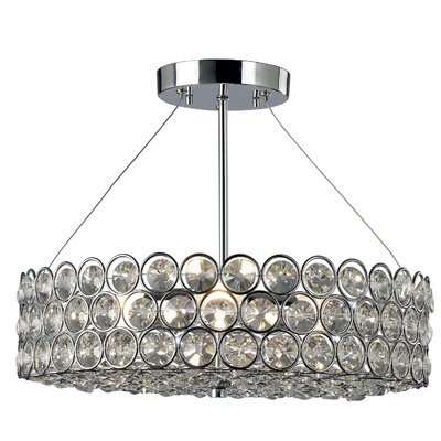 Mayfair 3-Light Semi Flush Mount
