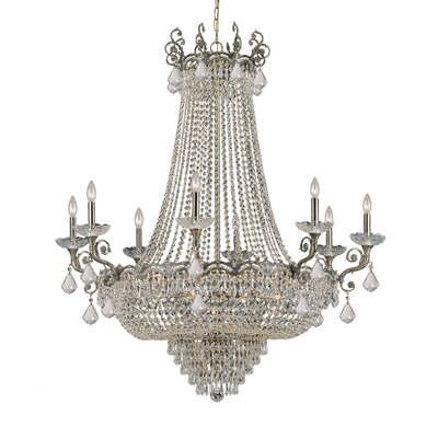 Rupelmonde 20-Light Crystal Chandelier Crystal: Swarovski Spectra