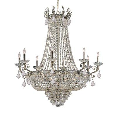 Rupelmonde 20-Light Crystal Chandelier Crystal: Swarovski Strass