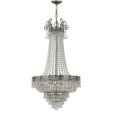 Rupelmonde 8-Light Crystal Chandelier Crystal: Swarovski Spectra