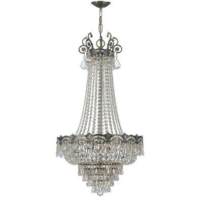 Rupelmonde 8-Light Crystal Chandelier Crystal: Swarovski Strass