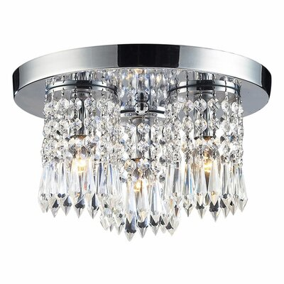 Descoteaux 3-Light Semi Flush Mount