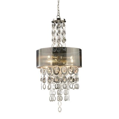 Hiser 3-Light Drum Pendant