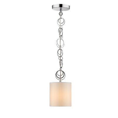 Dezirae 1-Light Mini Pendant