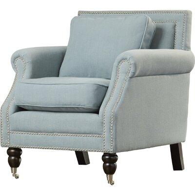 Swaffham Arm Chair Upholstery: Sky Blue