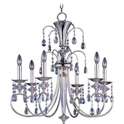 Mae 6-Light Crystal Chandelier