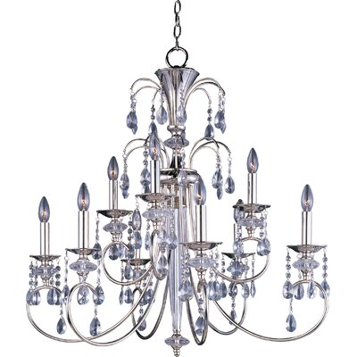 Mae 9-Light Crystal Chandelier