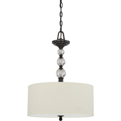 Christena 3-Light Drum Pendant