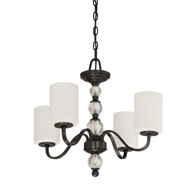 Christena 4-Light Shaded Chandelier