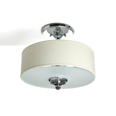 Christena 3-Light Semi Flush Mount