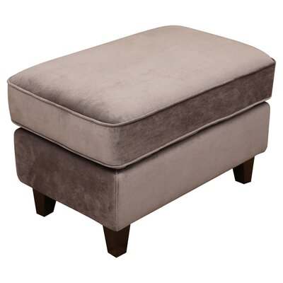 Dionisio Ottoman Upholstery Color: Grey