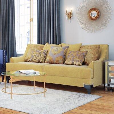 Fl�vio Premium Sofa Upholstery: Gold