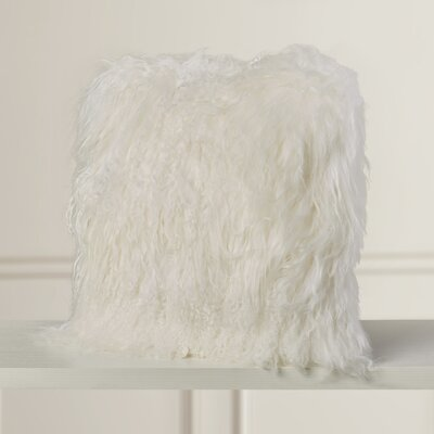 Elisha Throw Pillow Color: Cream