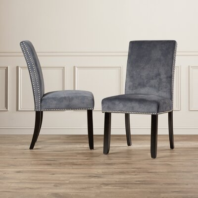 Wantage Parsons Chair Upholstery: Slate