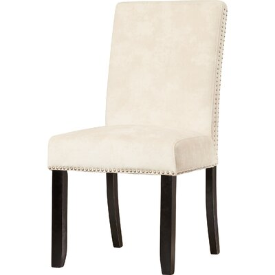 Brucedale Parsons Chair Upholstery: Cream