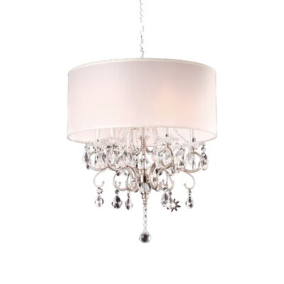 Kitson 6-Light Drum Chandelier