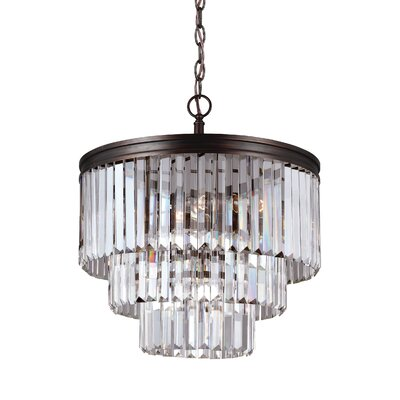 Domenique 4-Light Crystal Chandelier