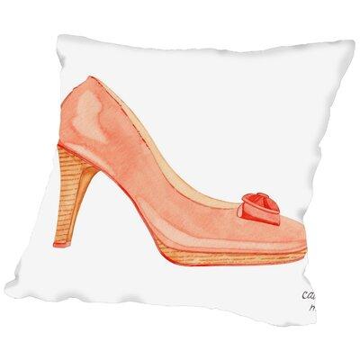 Gina Maher Throw Pillow Size: 16