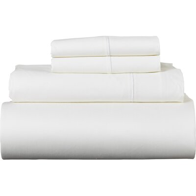 Covertt 1500 Thread Count 100% Cotton Sheet Set Color: White, Size: California King