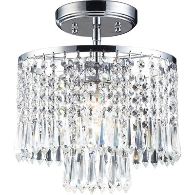 Roulers 1-Light Semi Flush Mount