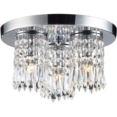 Descoteaux 3-Light Flush Mount