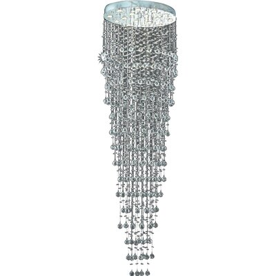 Colne 16-Light Large Flush Mount Crystal Grade: Royal Cut