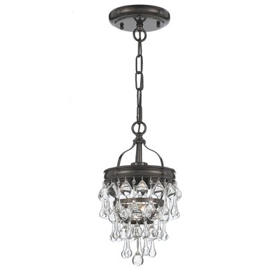 Devanna 1-Light Mini Pendant Finish: Vibrant Bronze