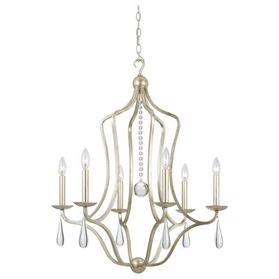 Rochefort 6-Light Candle-Style Chandelier