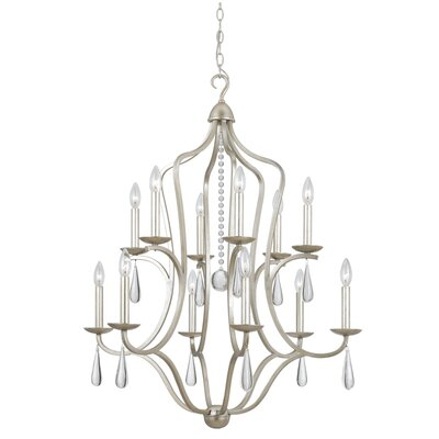 Rochefort 12-Light Candle-Style Chandelier