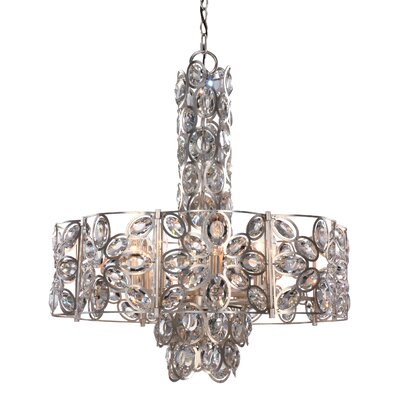 Rhode 8-Light Crystal Chandelier