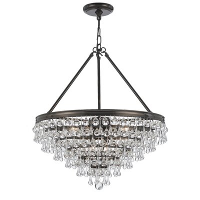 Devanna Glam 8-Light Crystal Chandelier